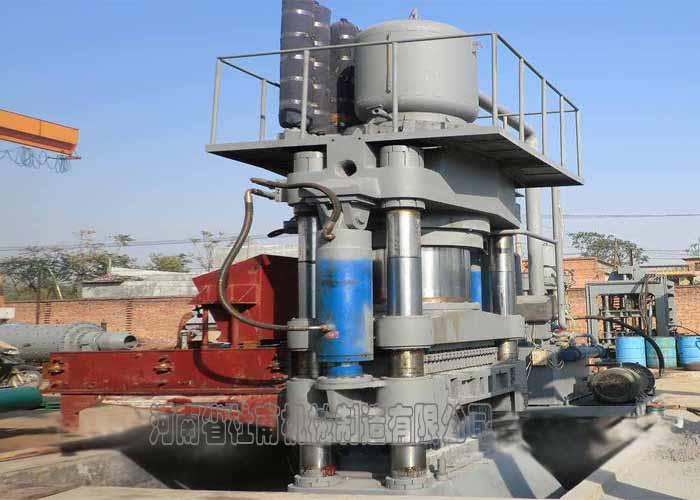 液压系统采用进口比例阀